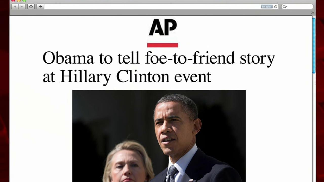 Obama set to campaign with Clinton