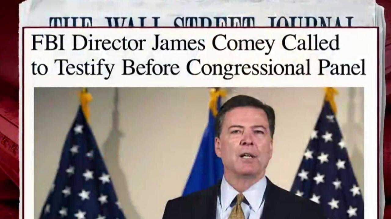 Comey to testify about Clinton case