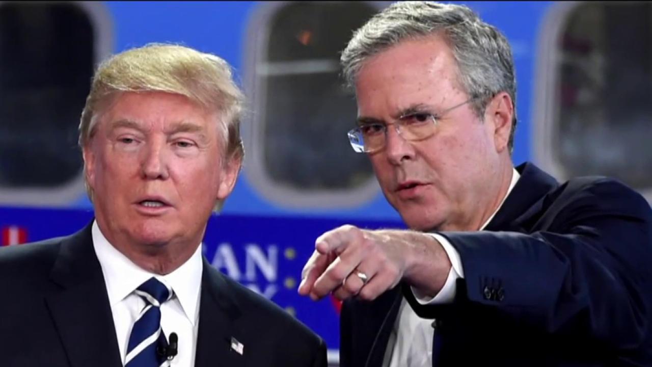 Bush: Trump created 'alternative universe'