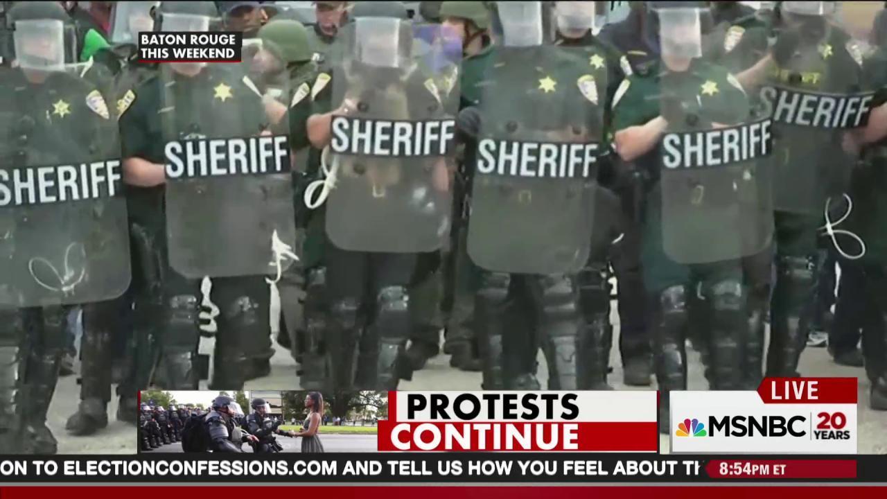 Hundreds arrested as BLM protests rage