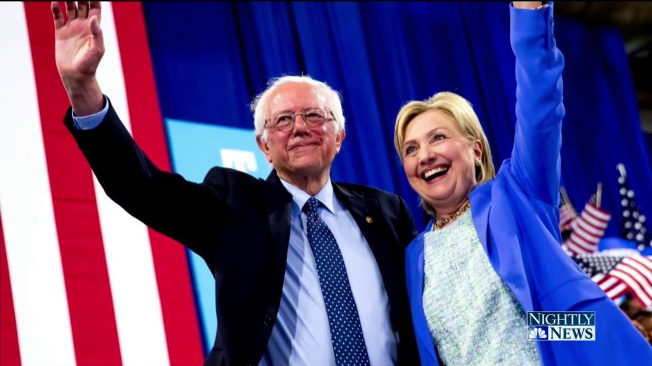 bernie sanders endorses hillary clinton for president. Black Bedroom Furniture Sets. Home Design Ideas