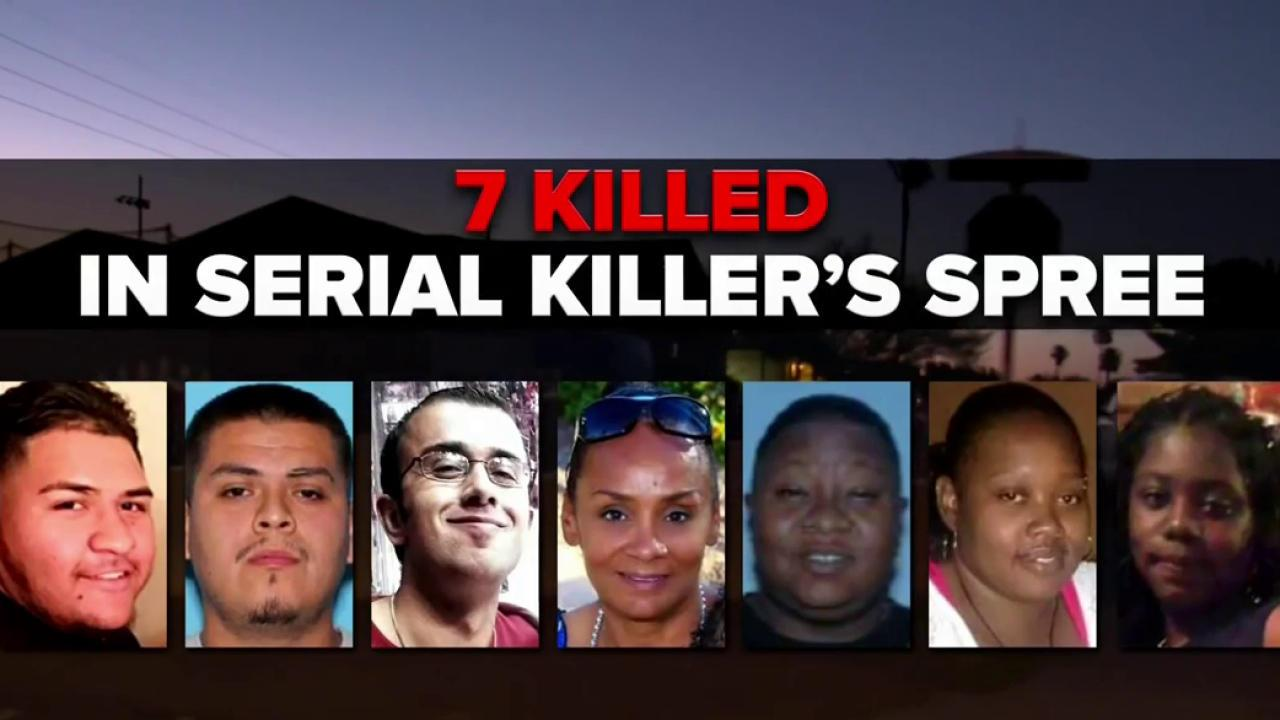 Phoenix Serial Shootings Four More Crimes Added To Deadly Pattern - Map of serial killers are active in the us