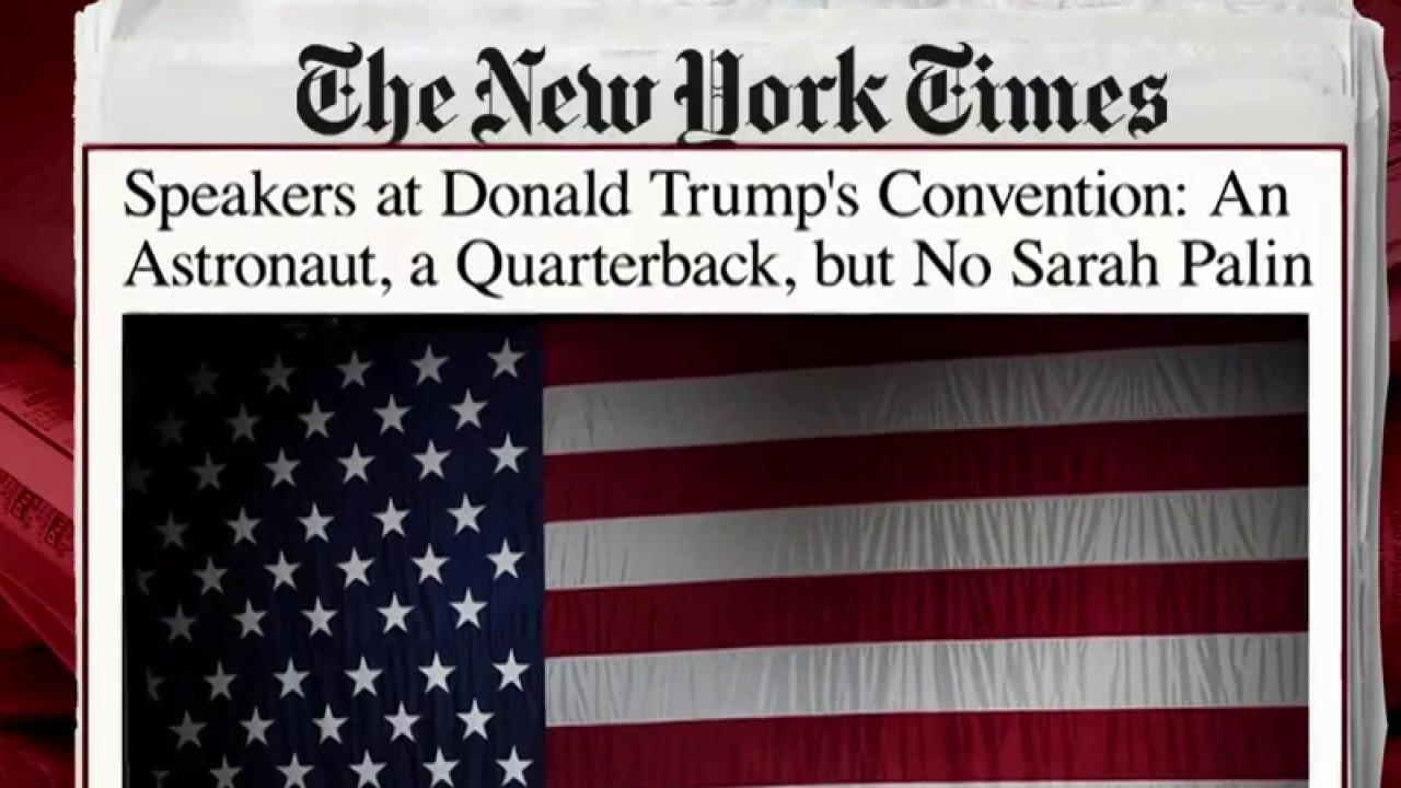 NYT releases first speakers for RNC