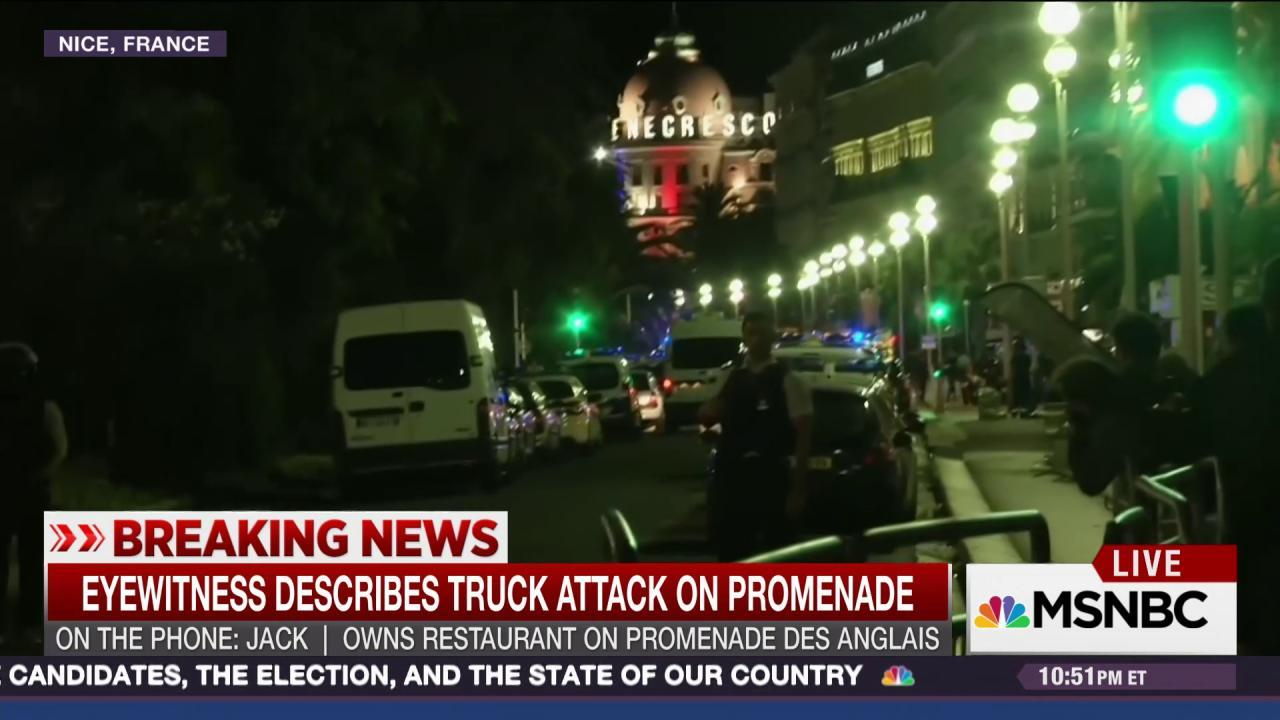 France terror witness details attack
