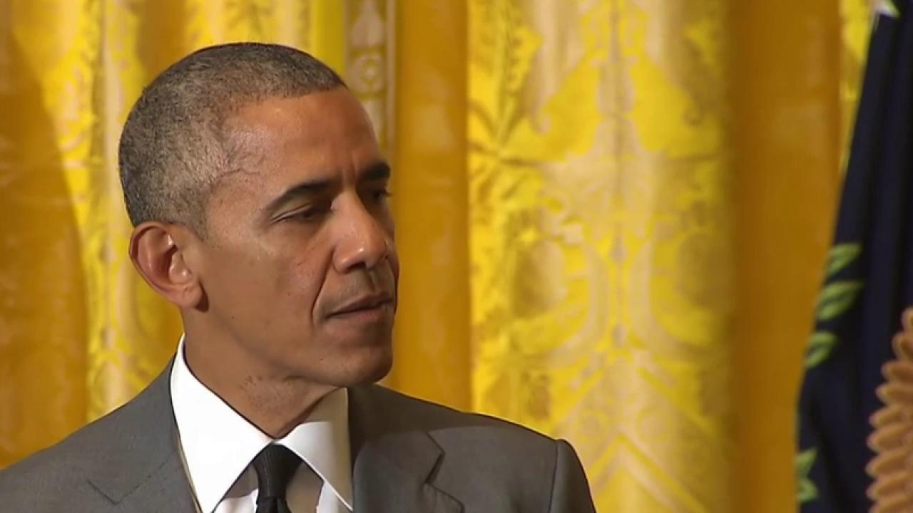 Obama: Our hearts are with people of France
