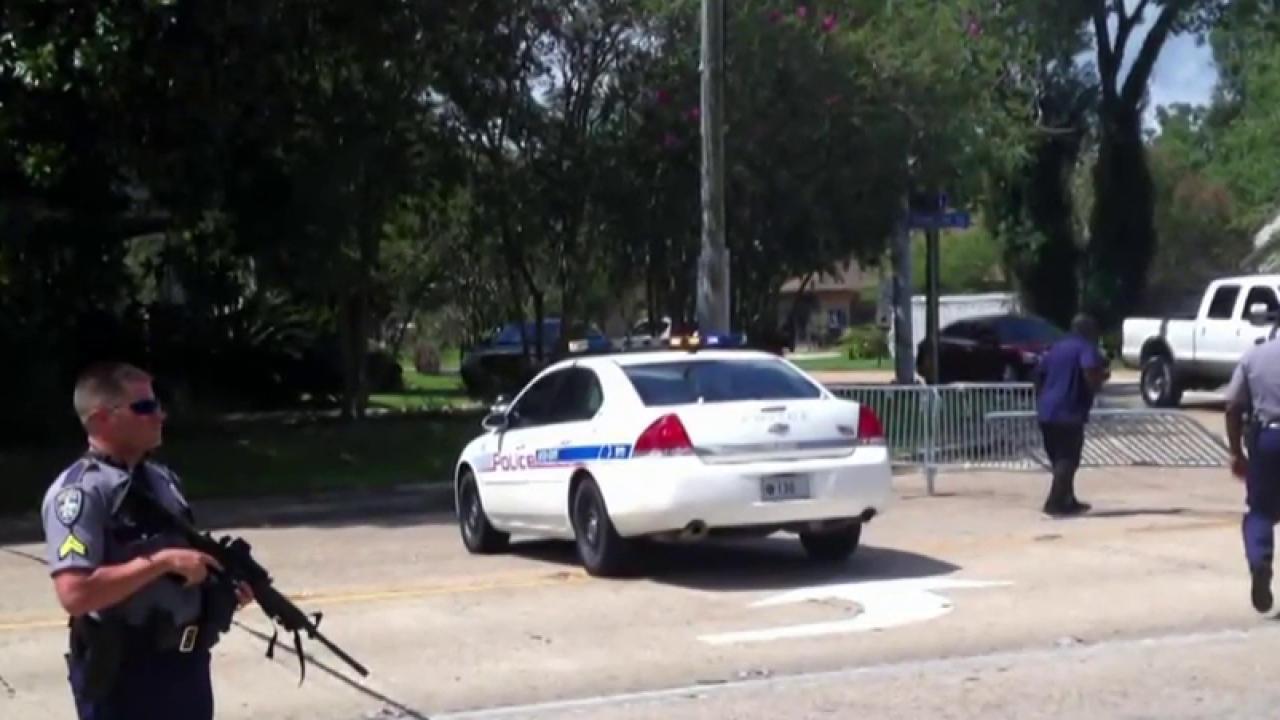 Baton Rouge mayor: Shootings caught us off...