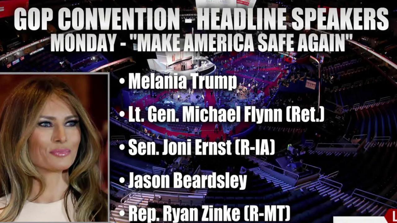 Monday's RNC theme: 'Make America Safe Again'