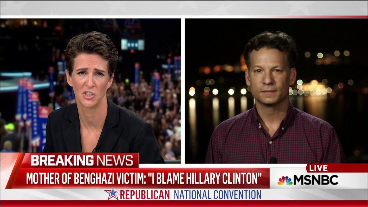 Benghazi politics takes tragedy to dark place