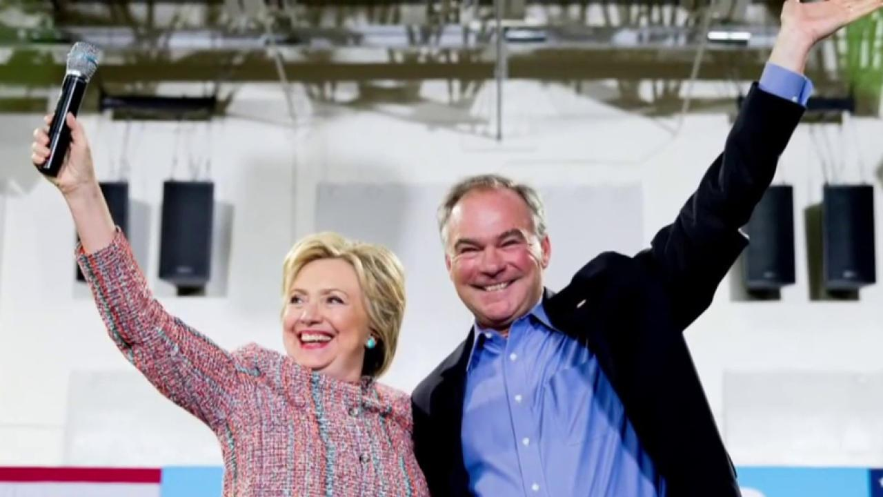 Why Tim Kaine is a 'governing decision'