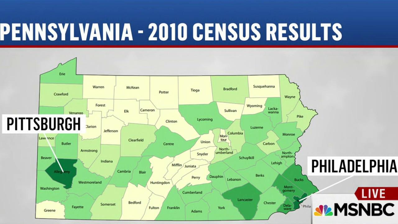 Can Trump make PA a red state?