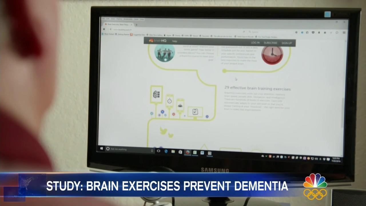 Brain Games Might Cut Alzheimer's Risk