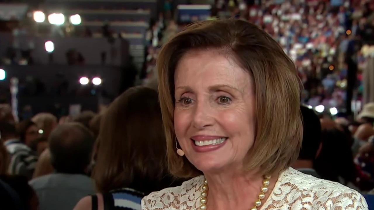 Pelosi: 'We're unified by our values'