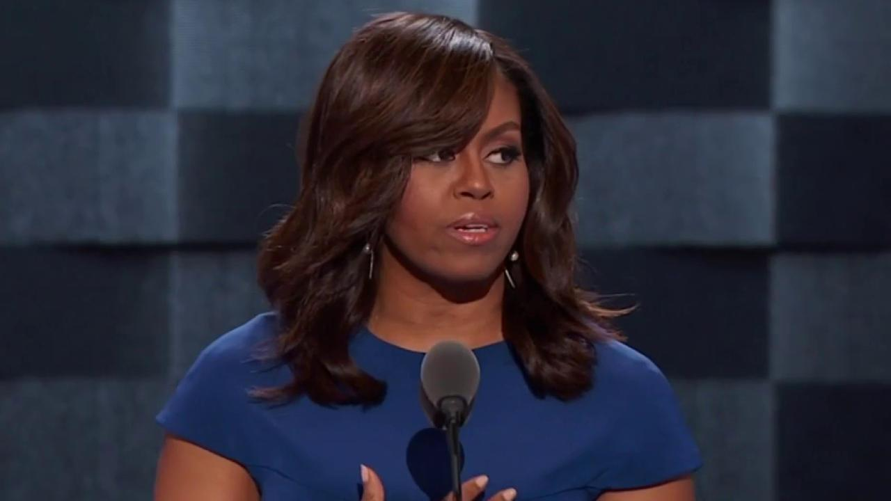 Michelle Obama: Clinton never buckles...