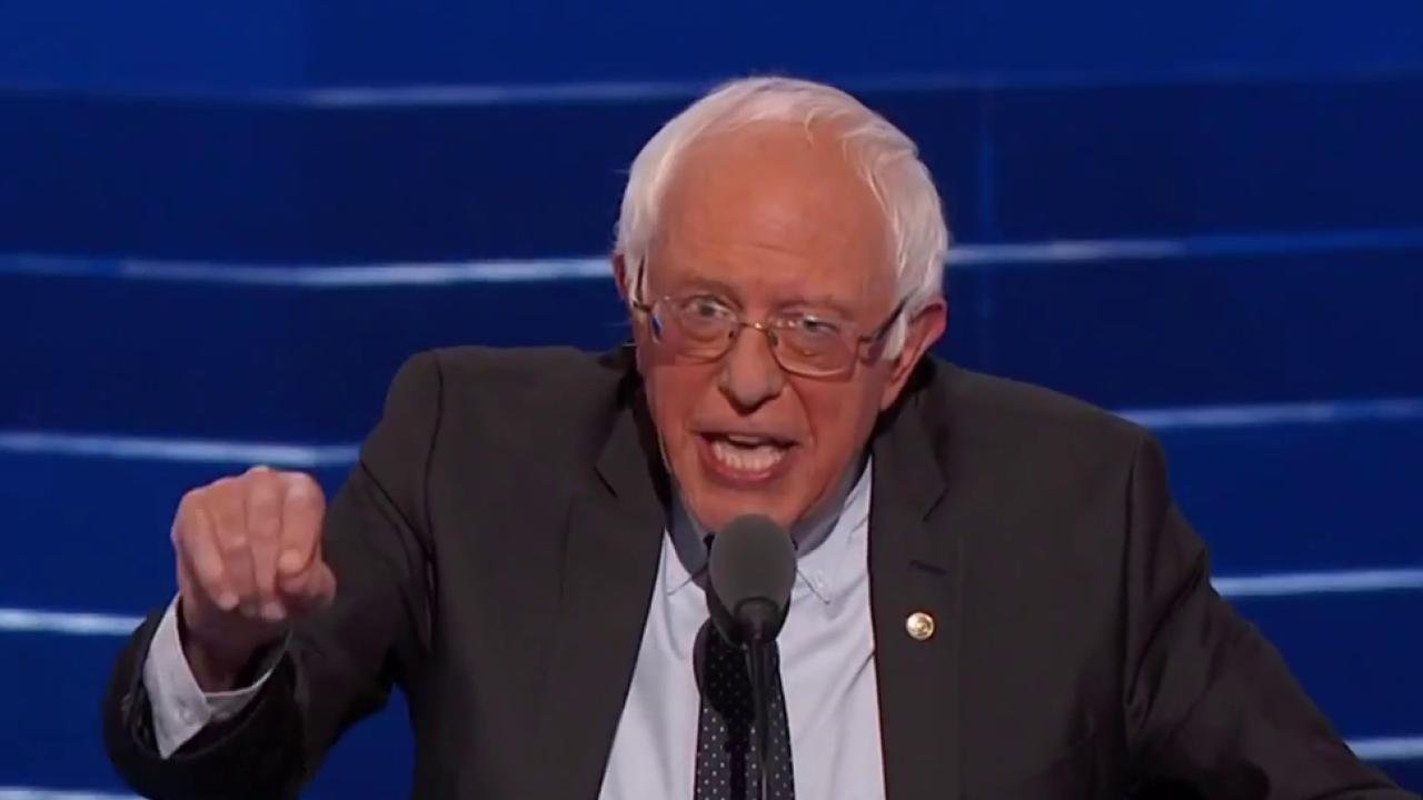 Sanders thanks his loyal supporters