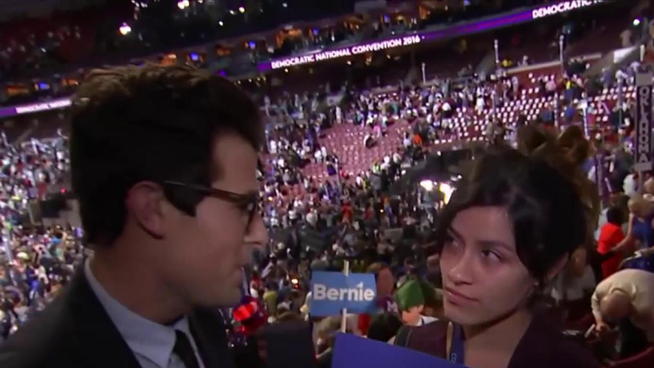 Sanders supporter: Speech was hard to accept
