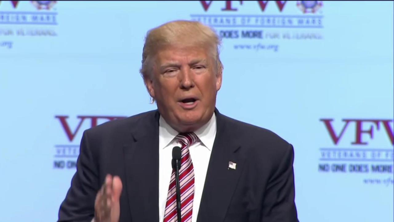 Dem. Rep.: Trump is 'spewing hate'