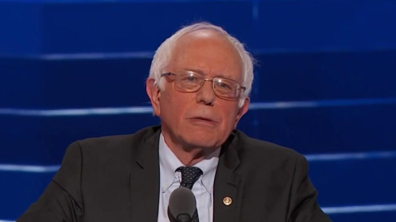 Will Sanders nominate Clinton at convention?