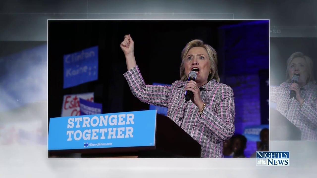 Lester Holt Reflects on Hillary Clintons Historic Nomination