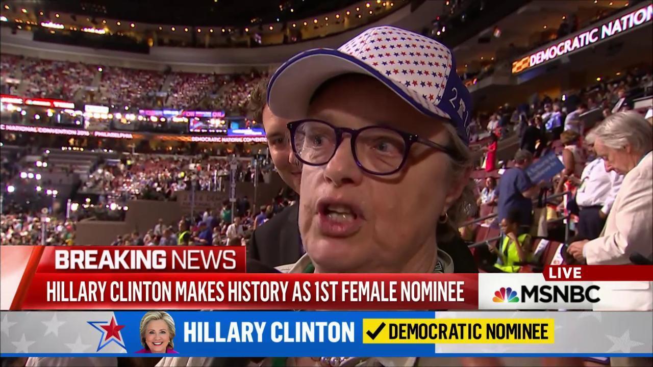 Behind the scenes: Sanders nominates Clinton