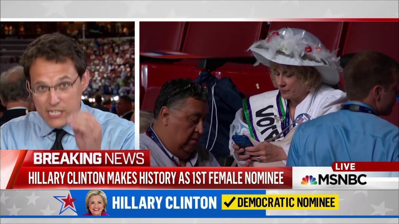 Sanders fudges acclamation line for Clinton