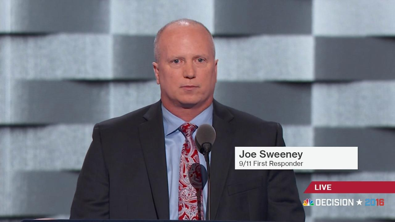 9/11 First Responder: Clinton fought for us