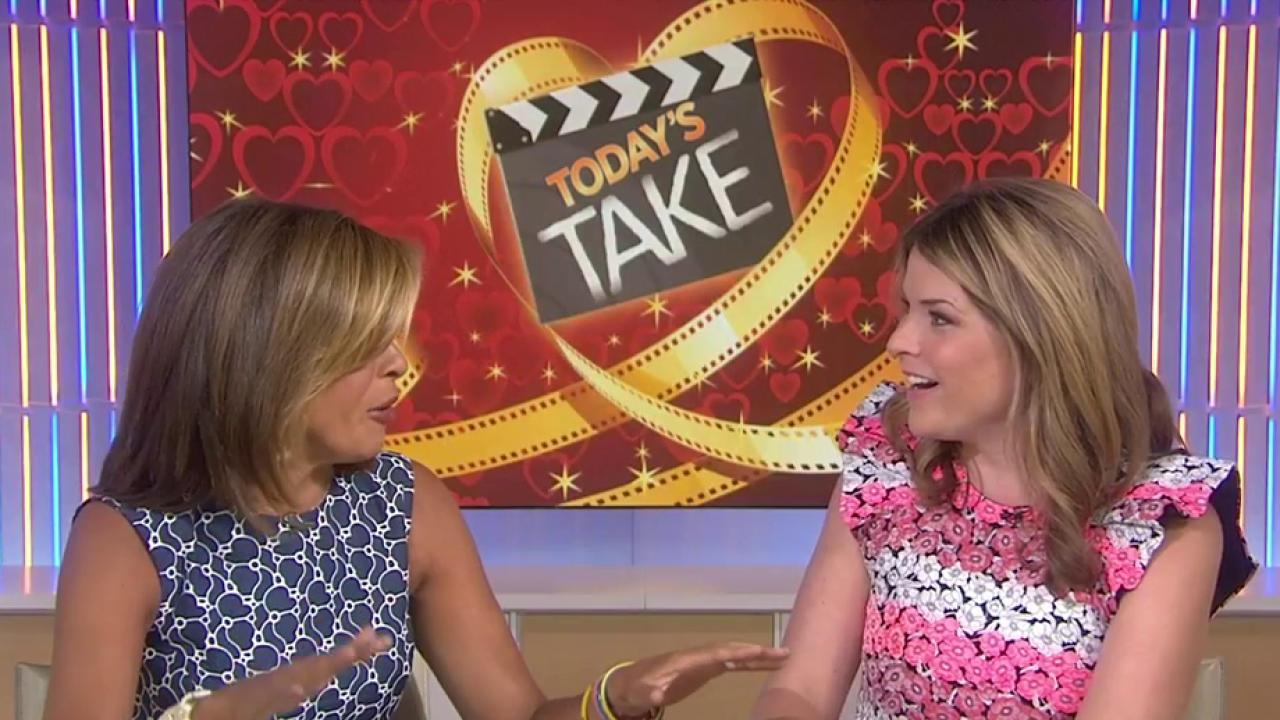 Hoda and Jenna share top ridiculous relationship goals from romcoms