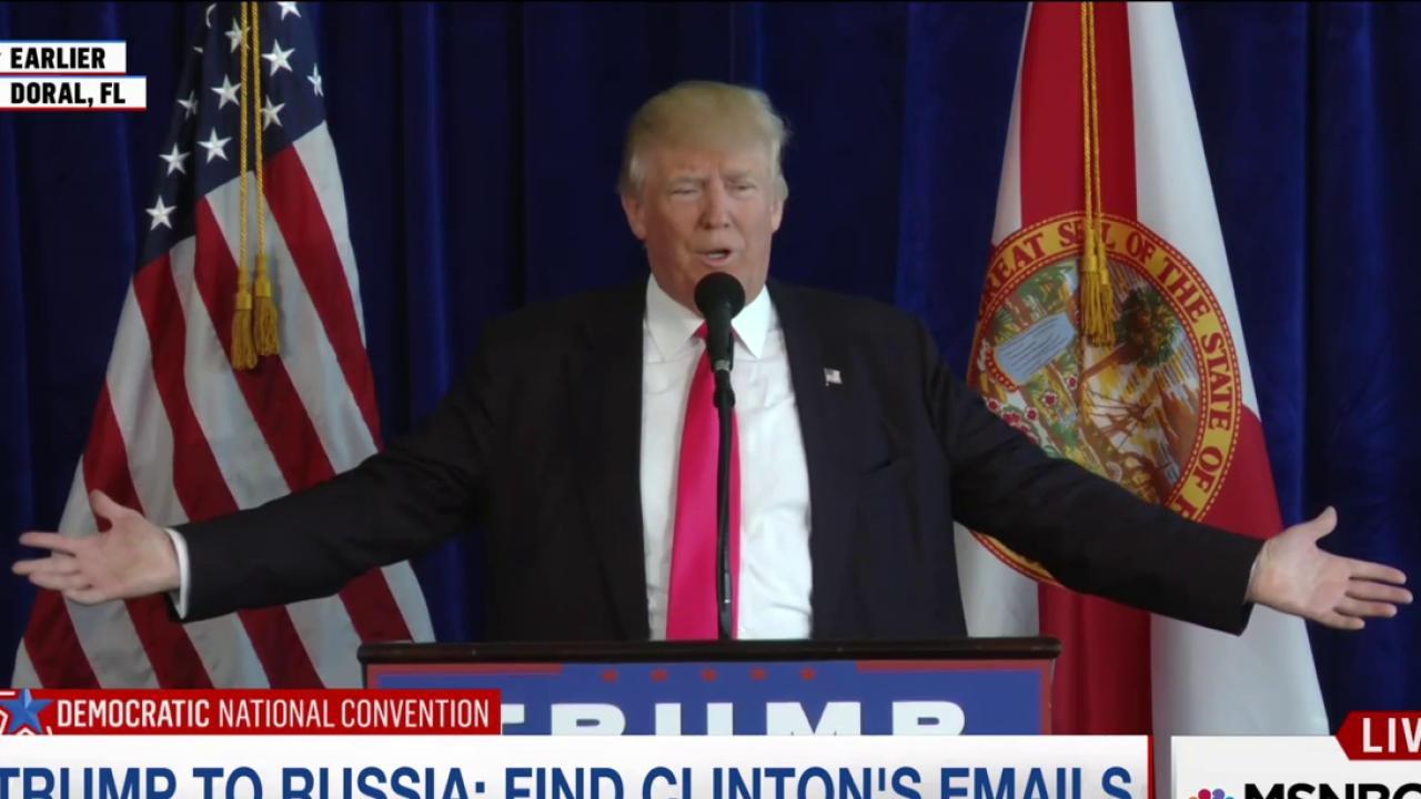 Clinton Campaign: Trump Encouraging...