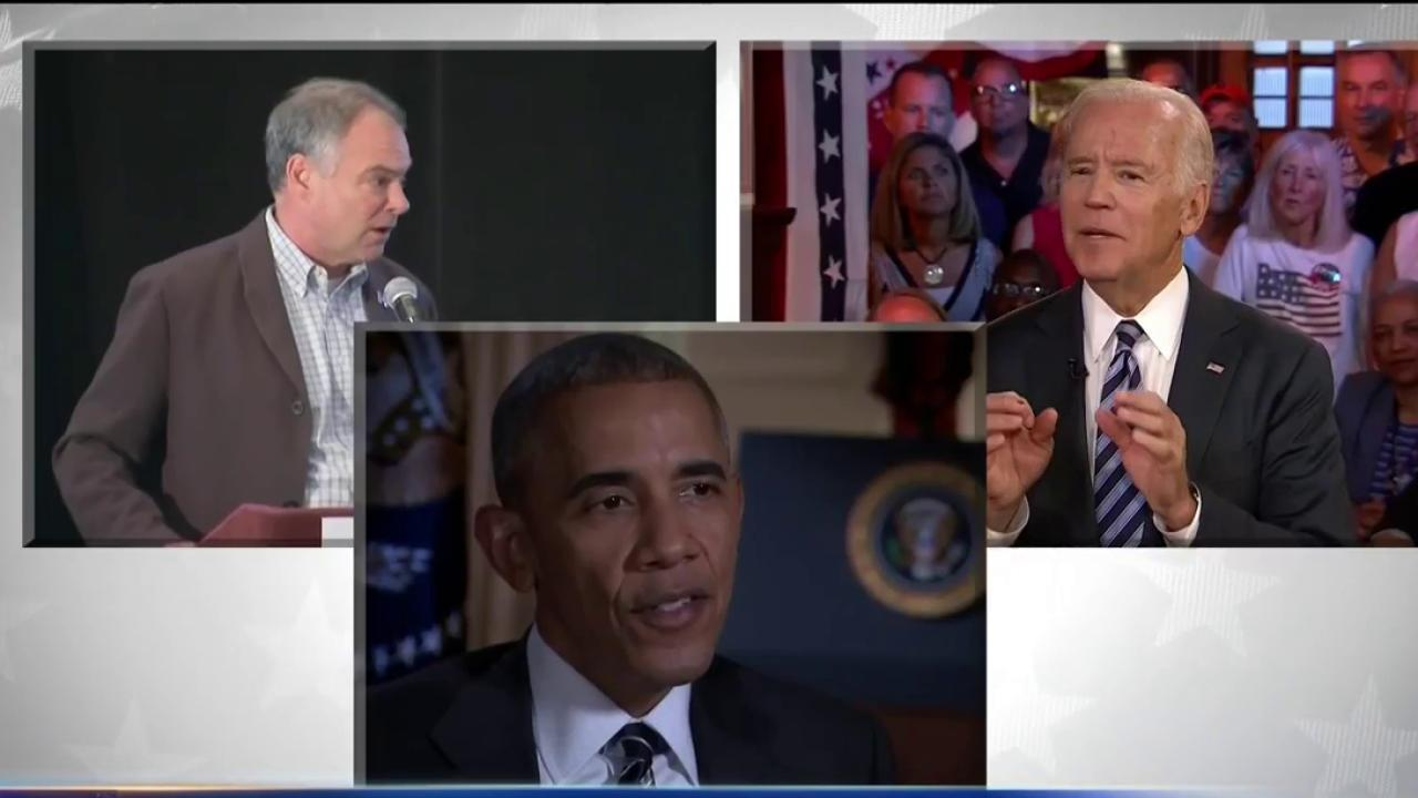 Obama and Biden Take DNC Stage After Trump Steals Spotlight