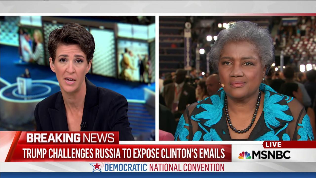 DNC expects more Wikileaks e-mail releases