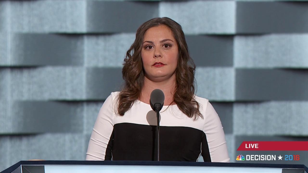 Daughter of Sandy Hook victim speaks out...