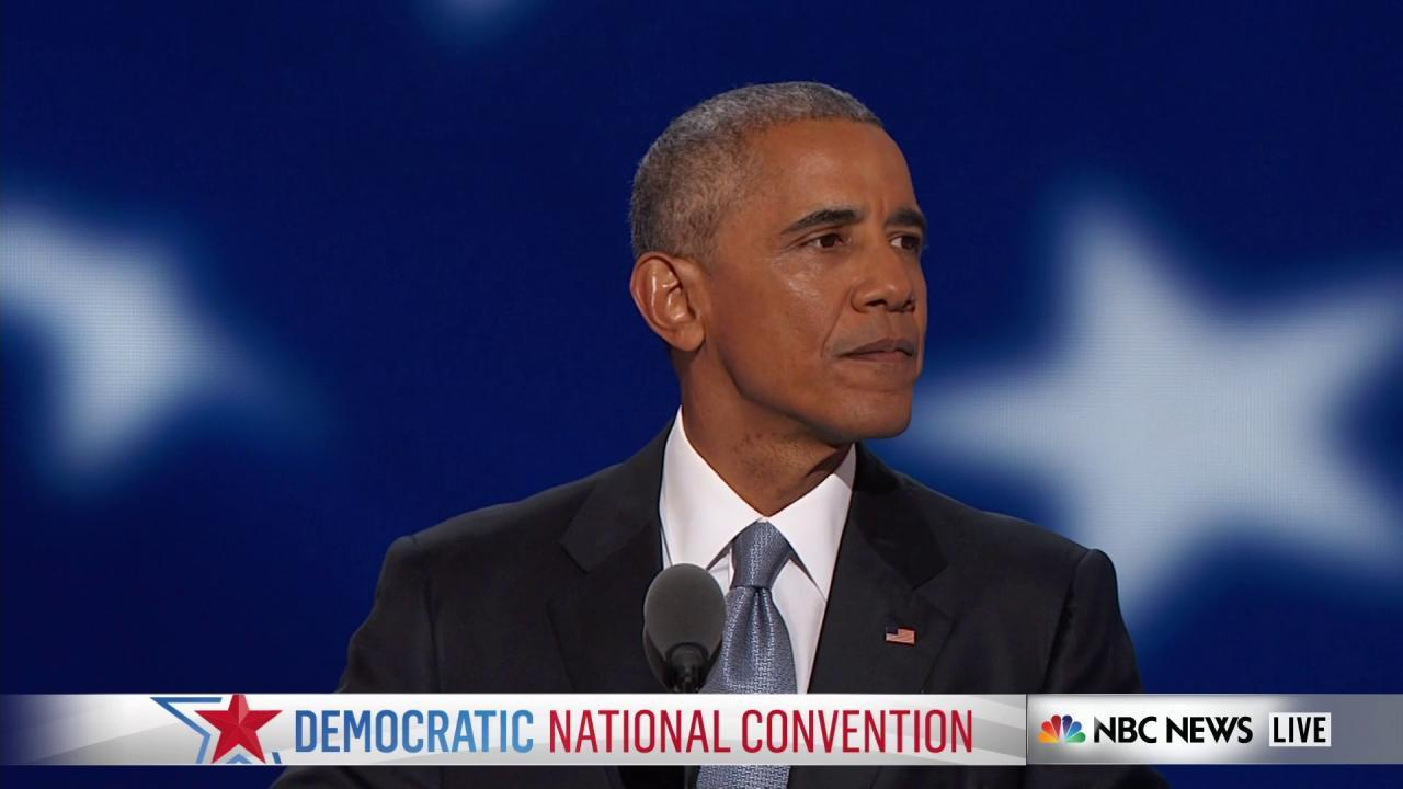 Obama: America has changed but values...