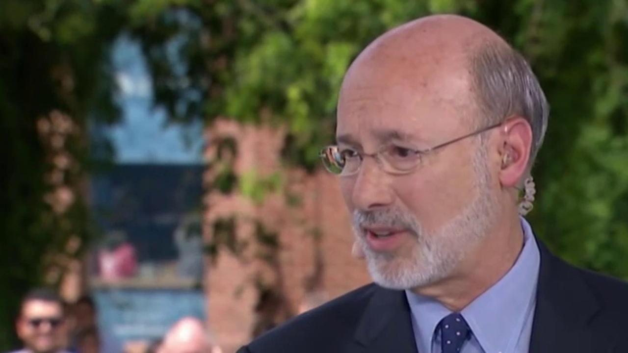 Gov. Wolf on Clinton, Trump and 2016
