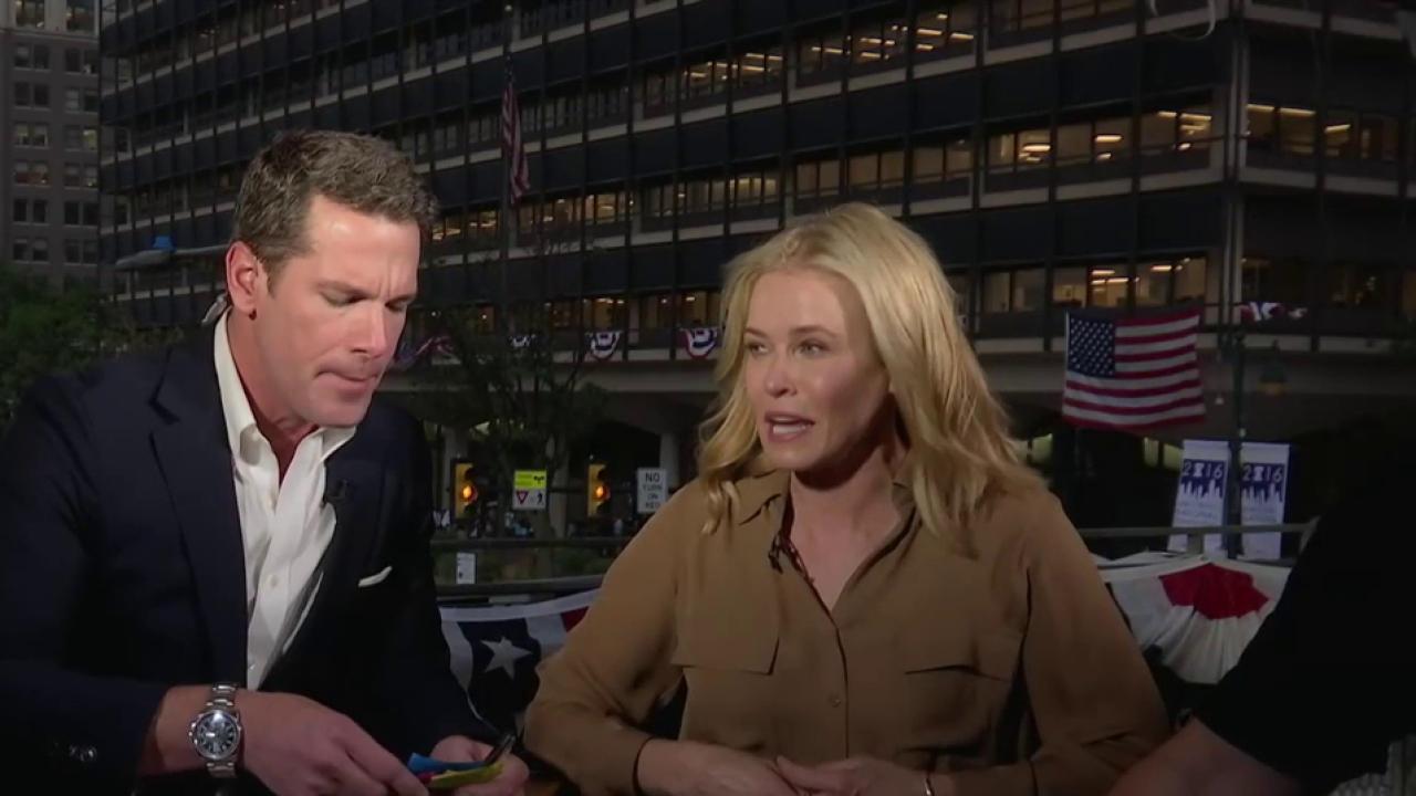 Chelsea Handler: Trump represents 'backwards'