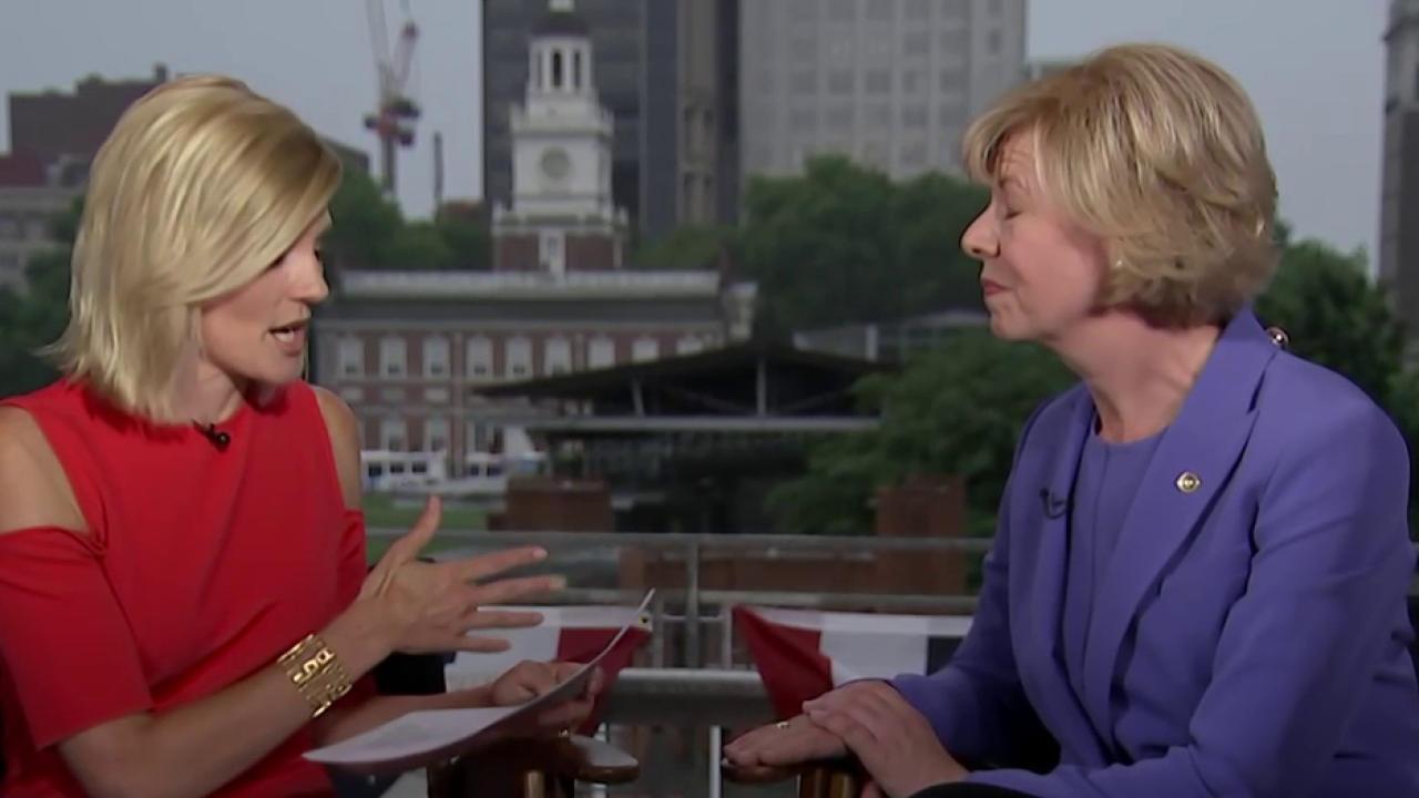 Senate women join forces for Clinton