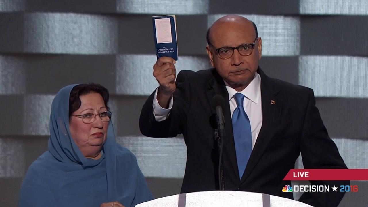 Father of slain Muslim US soldier: 'Have...
