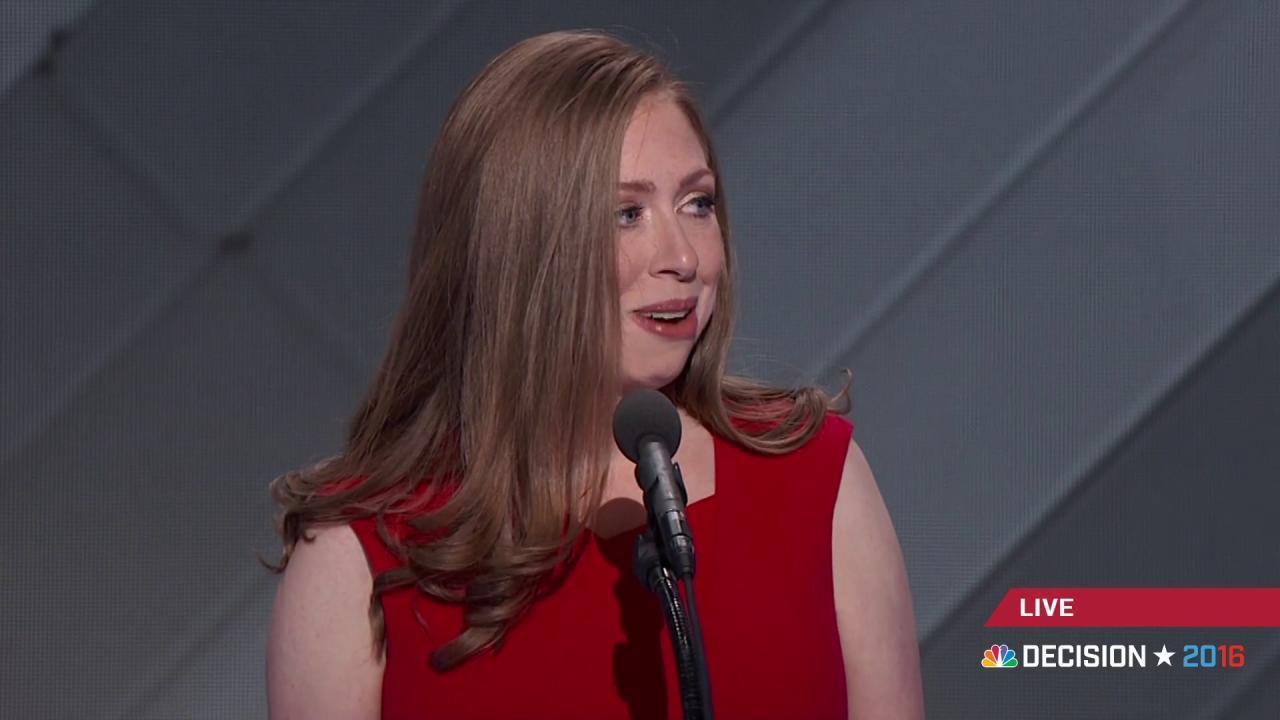 Chelsea Clinton: Hillary  'always, always...