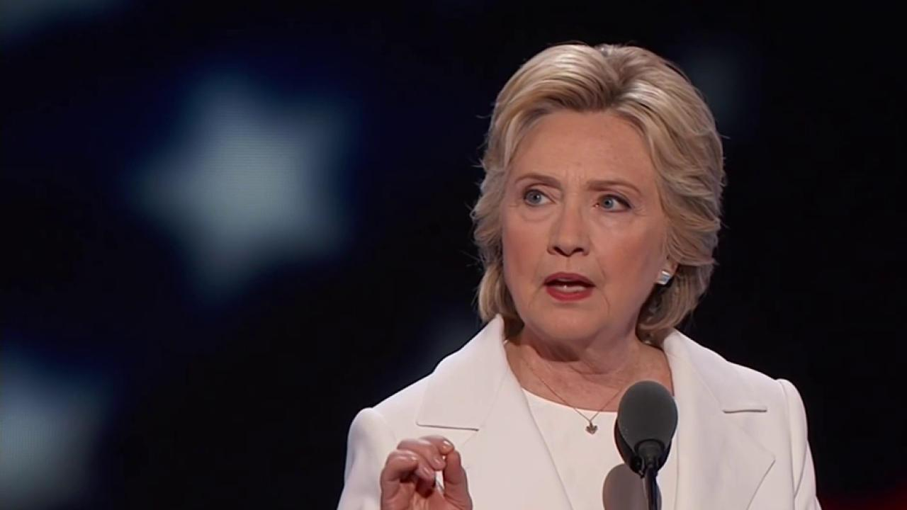 Clinton delivers 'meat and potatoes' speech