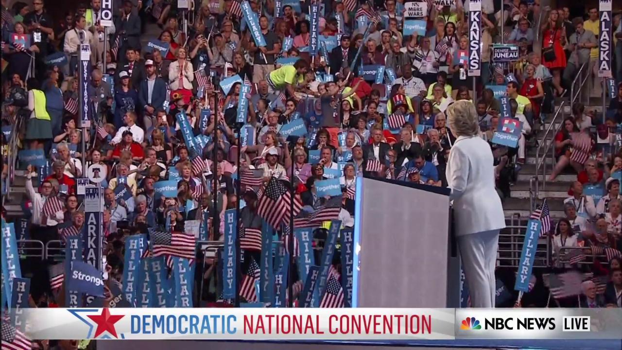 Clinton: 'We will not build a wall'