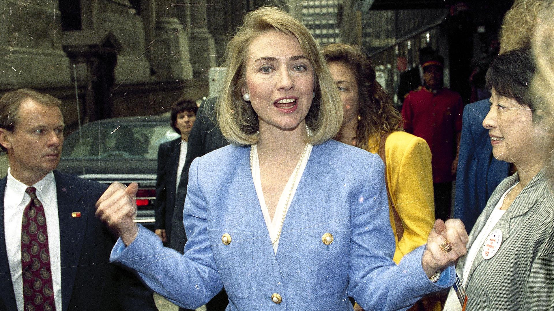 Flashback: Hillary Clinton as First Lady