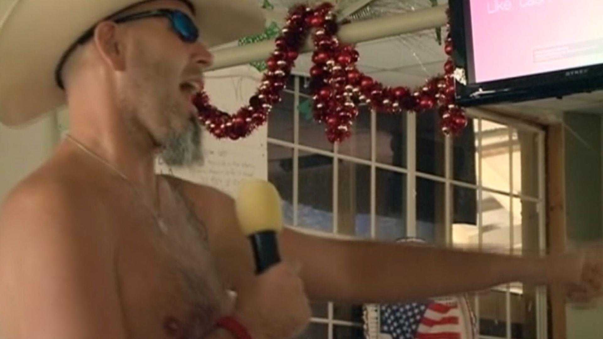Nudist Camp Beats the Heat and Misconceptions, Barely