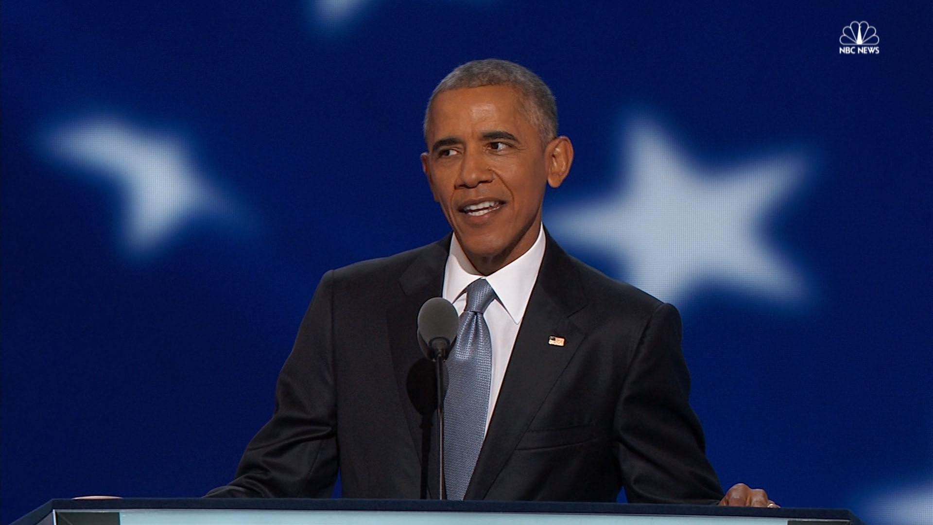 Obama's DNC speeches over the years