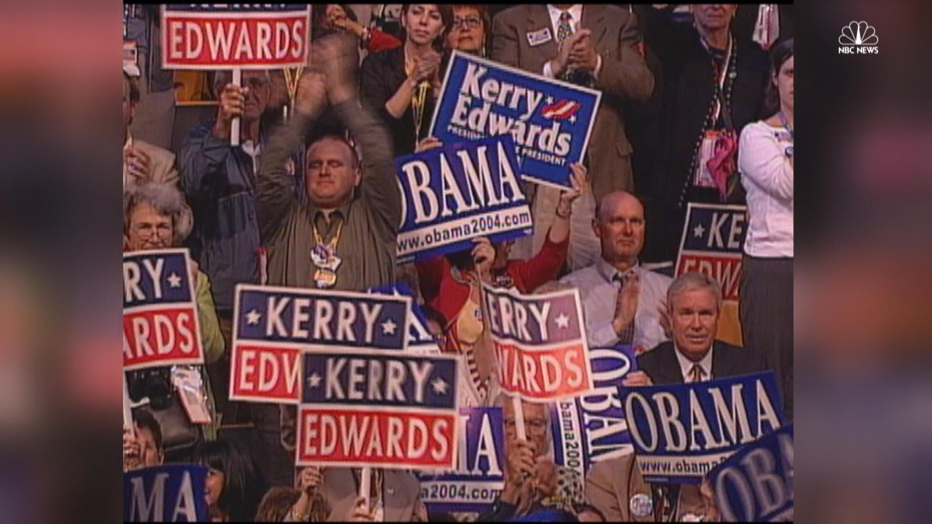 Memorable convention moments: 1964-2008