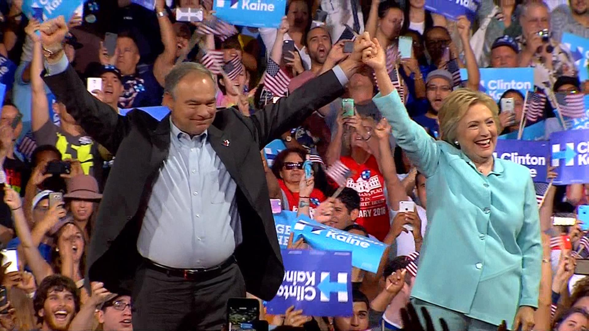 How and why Clinton chose Virginia Sen. Tim Kaine as her