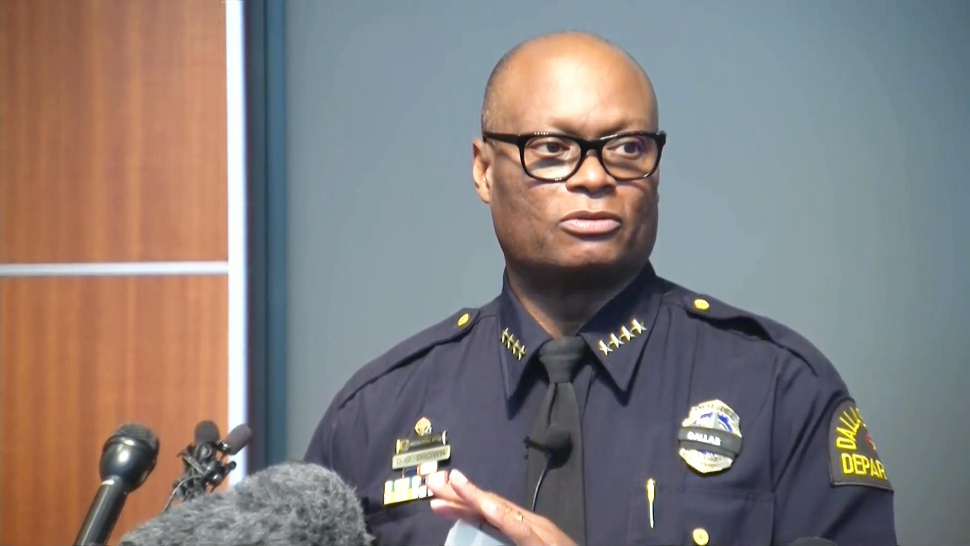 Dallas Police Chief David Brown Faces Toughest Challenge of Difficult Career