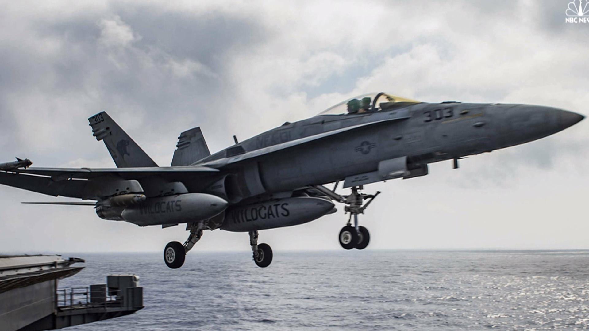 U.S. Aircraft Carrier Begins ISIS Strikes