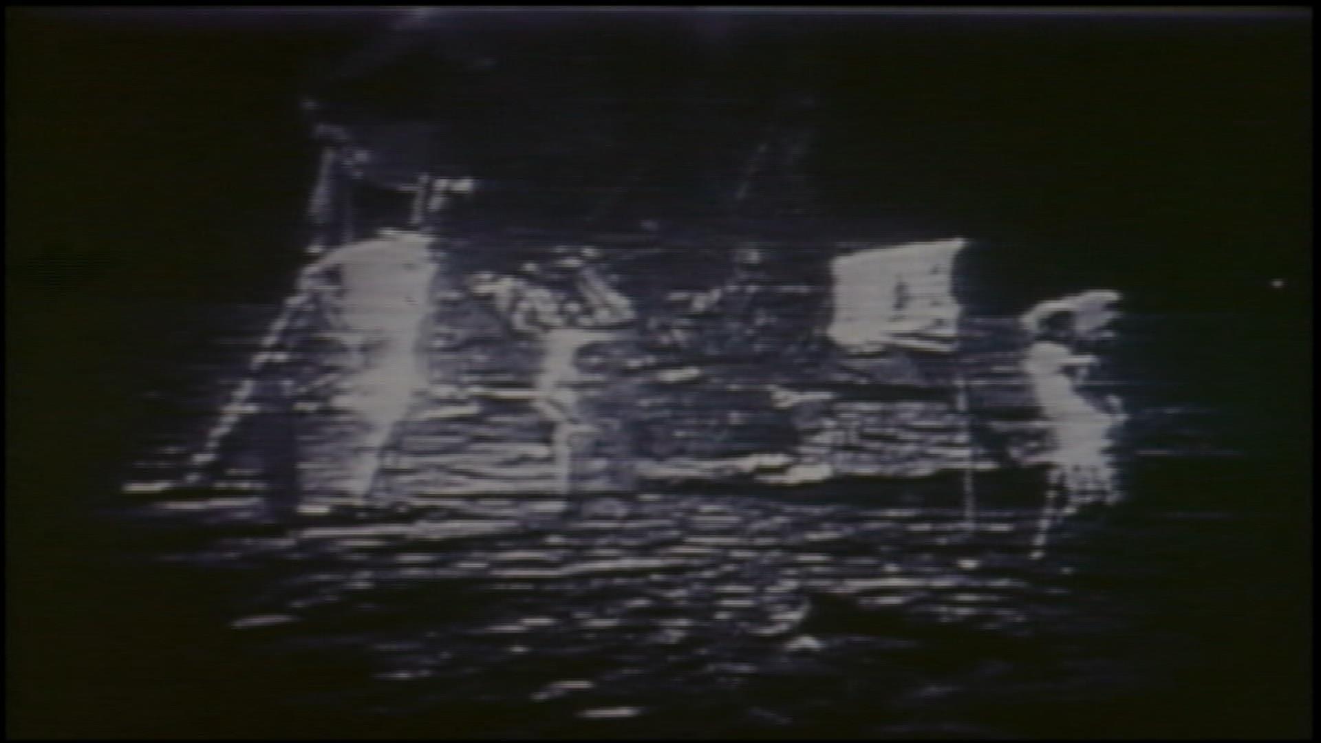 Watch Apollo 11's historic moon landing