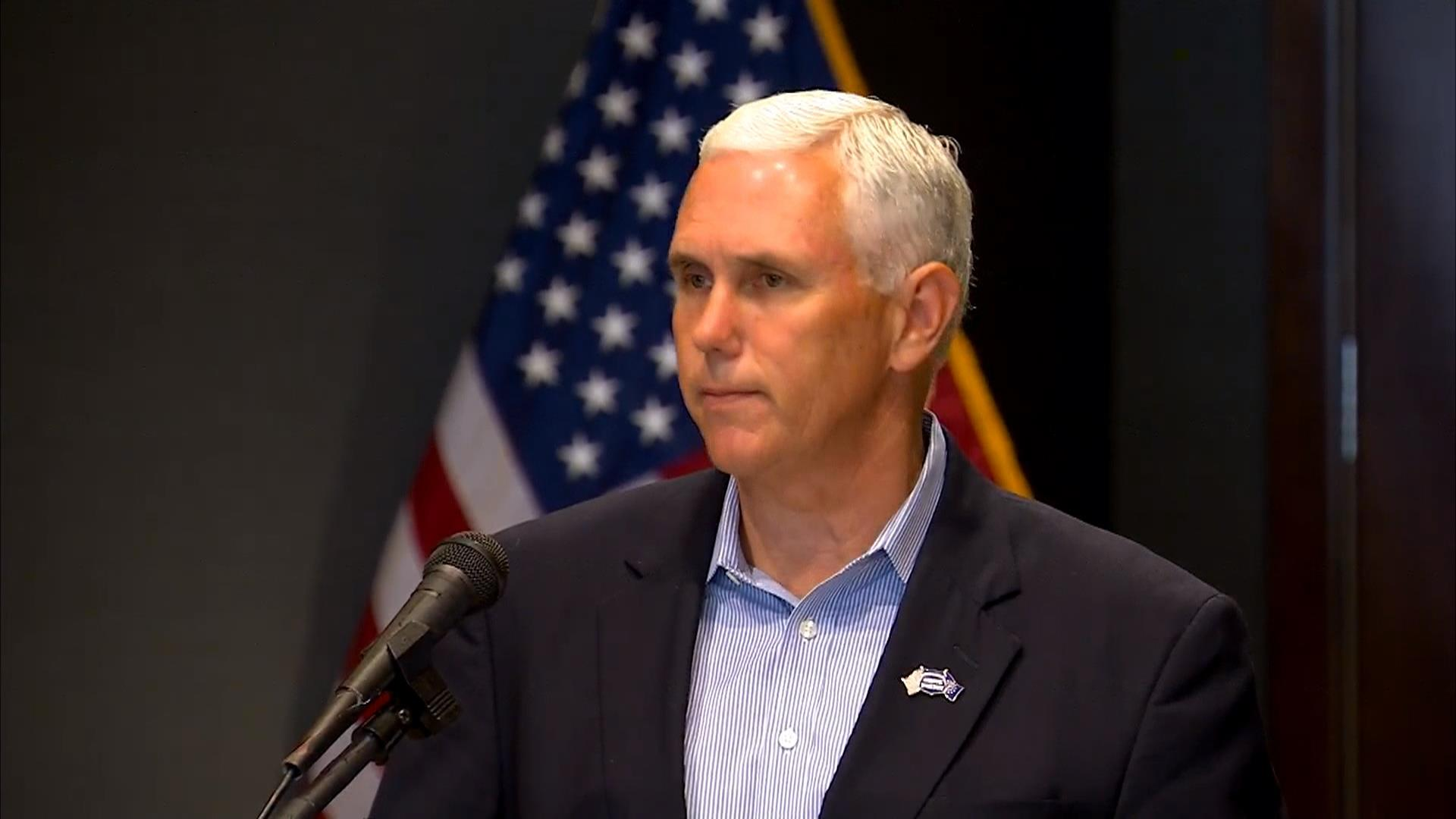 Pence Meets With Trump, Says 'Nothing Was Offered' on VP Front
