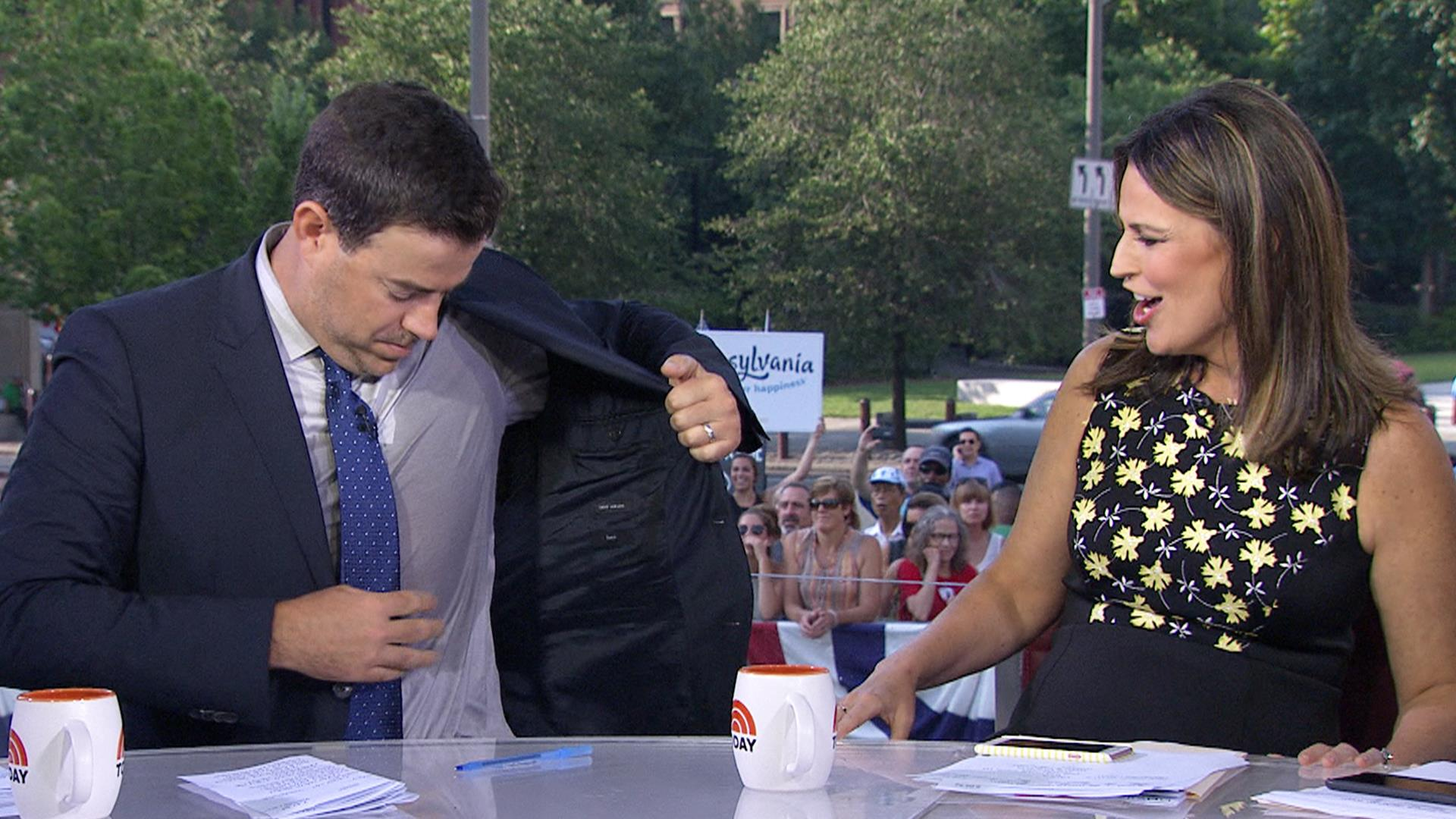 Deodorant discussion has Carson Daly working up a sweat - TODAY.com