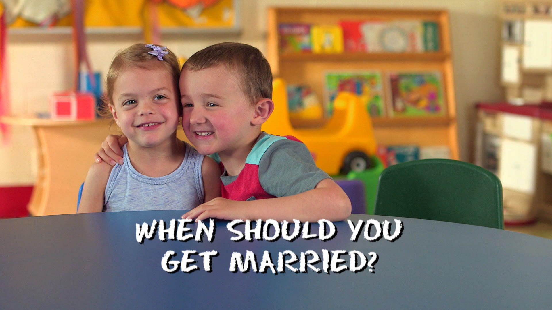 The Kids Table: Marriage