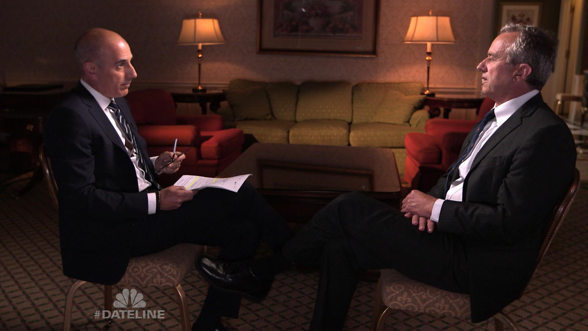 The Murder of Martha Moxley: Robert F. Kennedy Jr. sits down with Matt Lauer Friday on Dateline